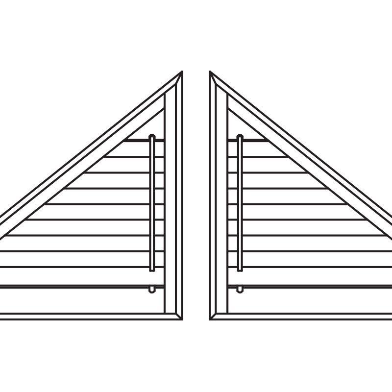 Triangular panels